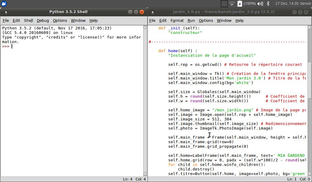 Ecrire Enregistrer Et Executer Ses Programmes Python Https